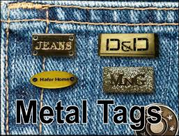 Metallic Garment Label