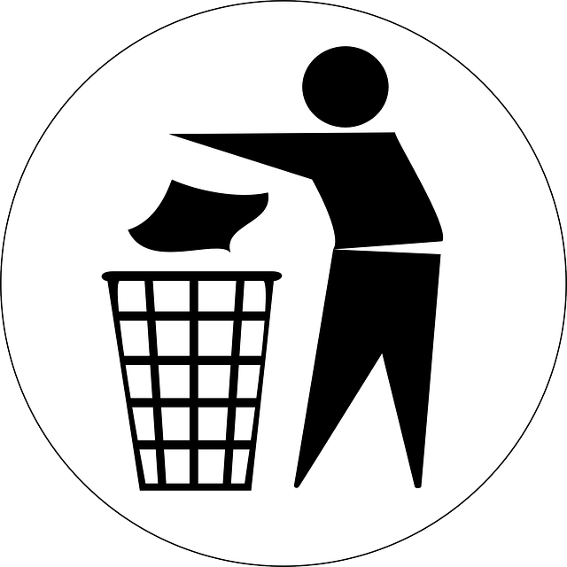 Dustbin Sign Labels
