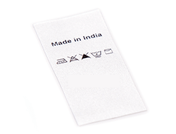 Made In India Labels