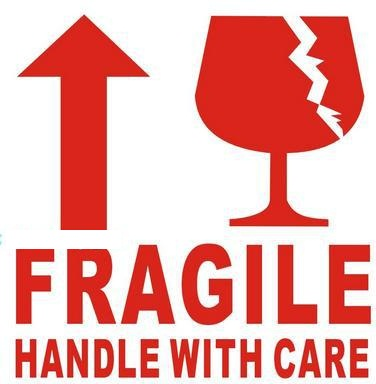 Fragile Sticker Labels