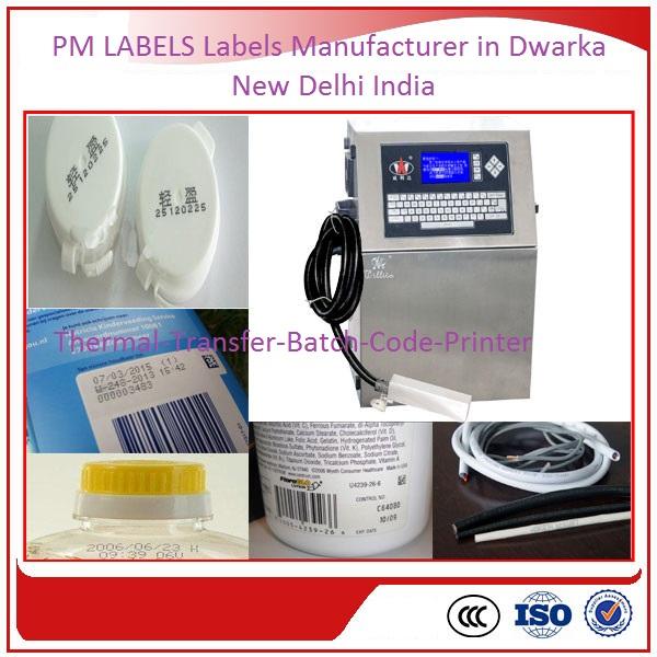 Thermal Transfer Batch Code Printer