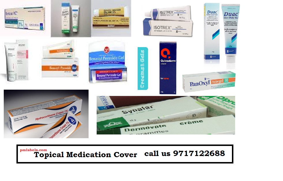 Topical Medication Cover Manufacturer
