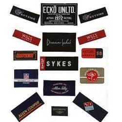 Designer Clothing Labels Woven Labels