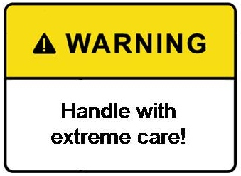 how to make warning labels